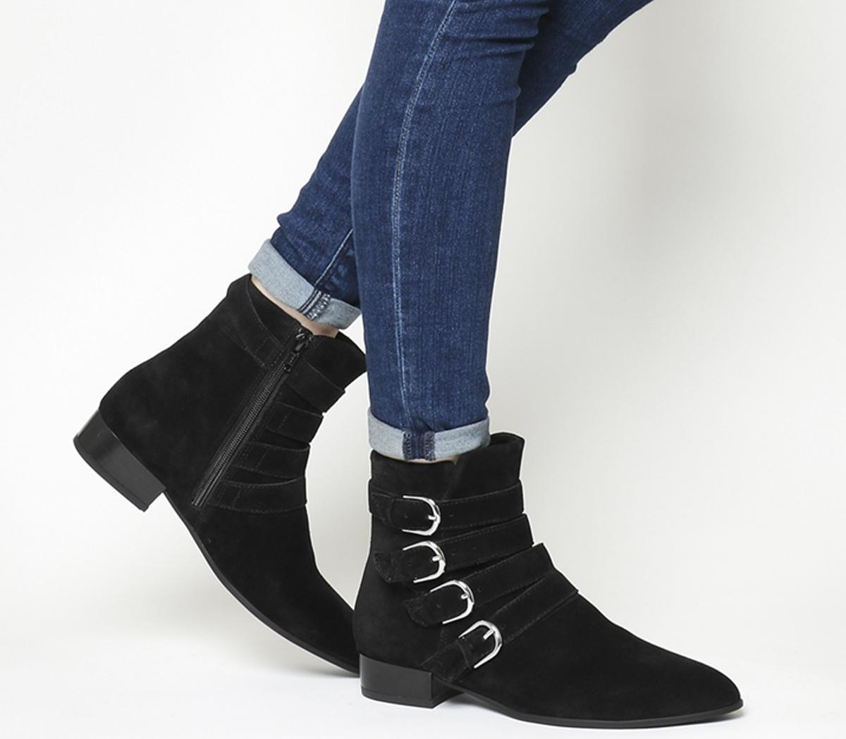 Gigi Strap Boots