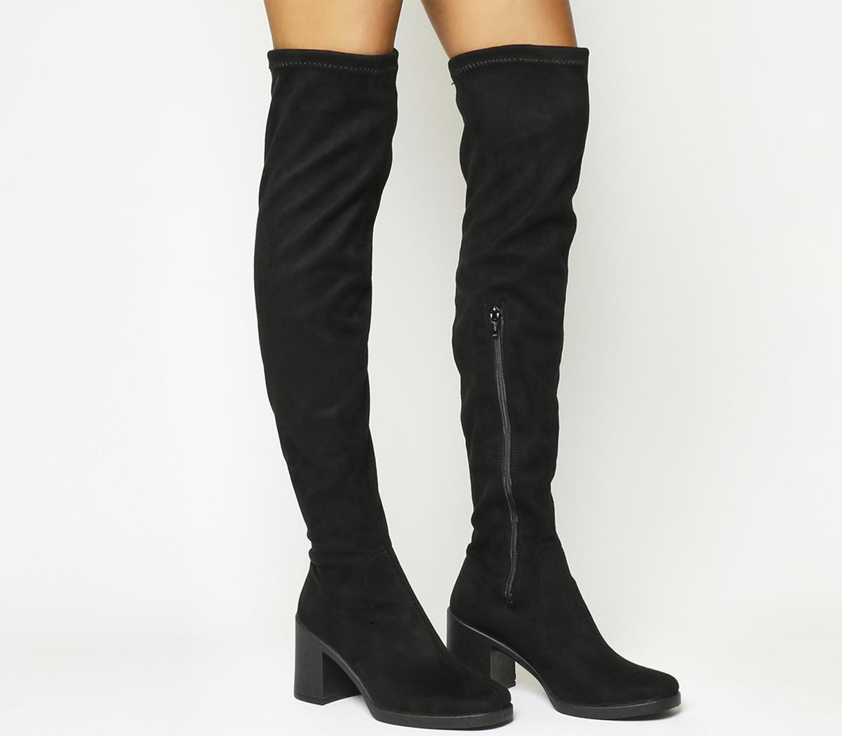 Kickback Over The Knee Boots