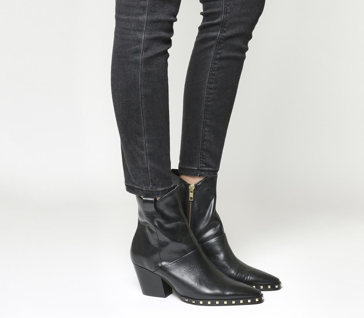 Argentina High Cut Western Boots
