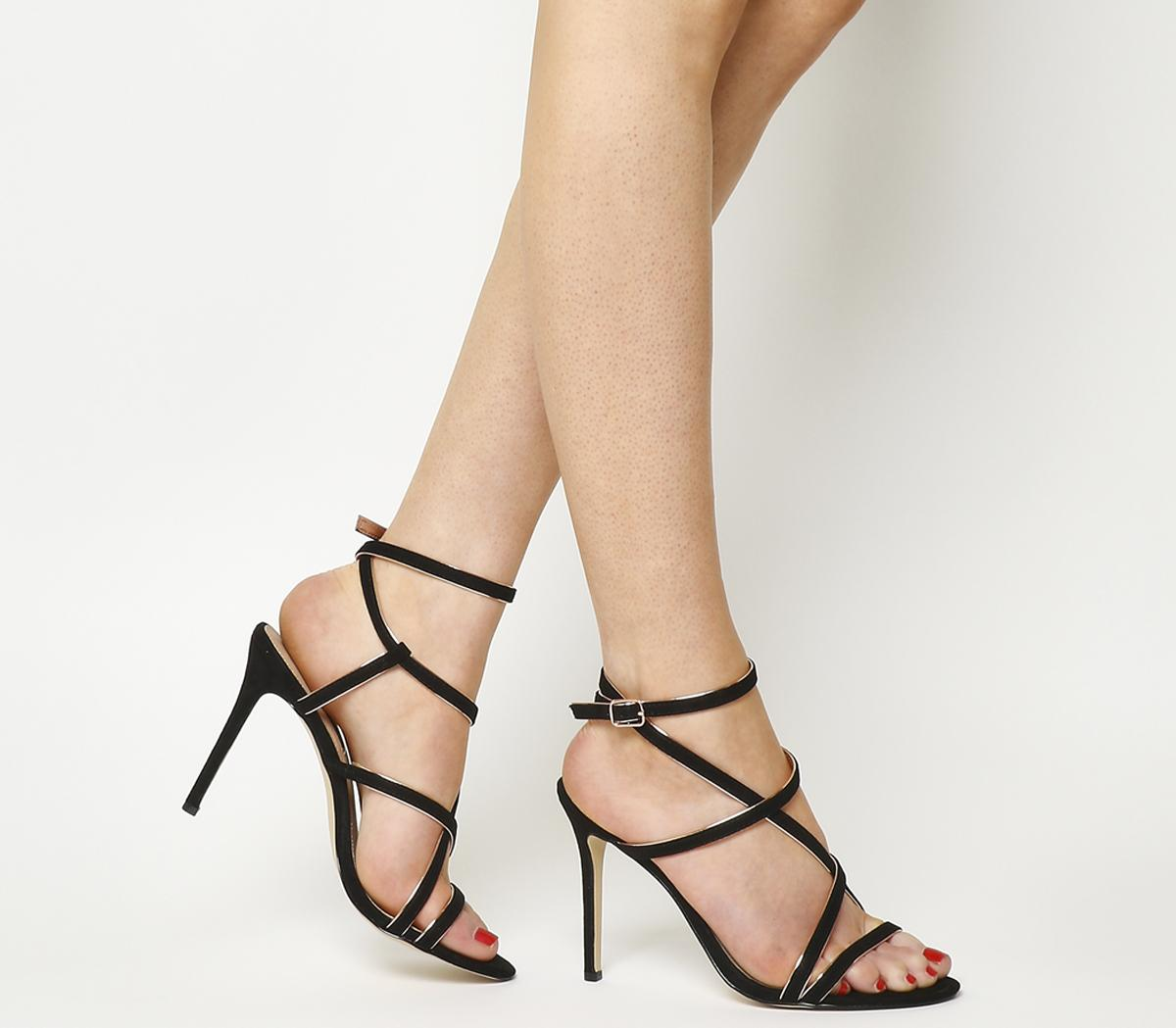 Hugo Strappy Heels