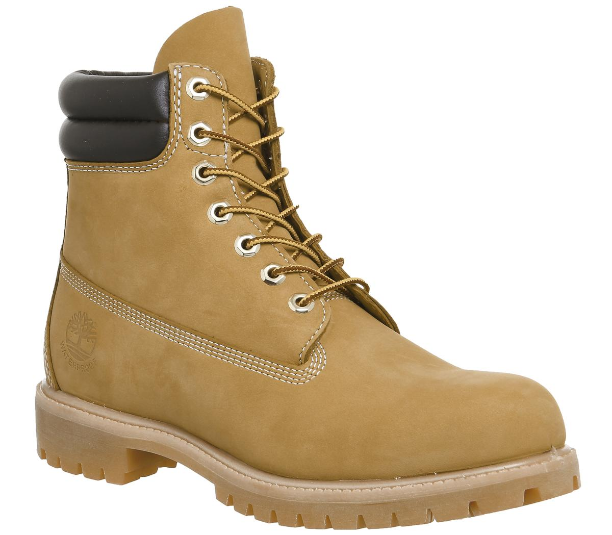 helt ny senaste modet enormt lager Timberland 6 Inch Double Collar Boots Wheat Nubuck - Boots