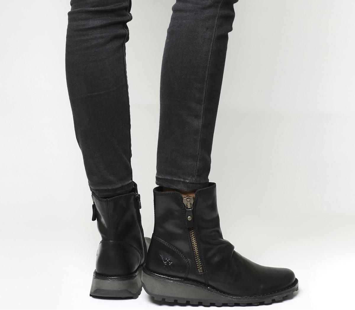 Mon Zip Boots