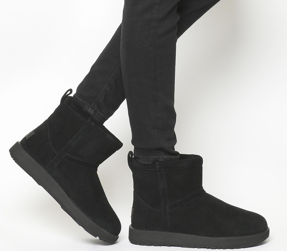 UGG Classic Mini Waterproof Boots Black