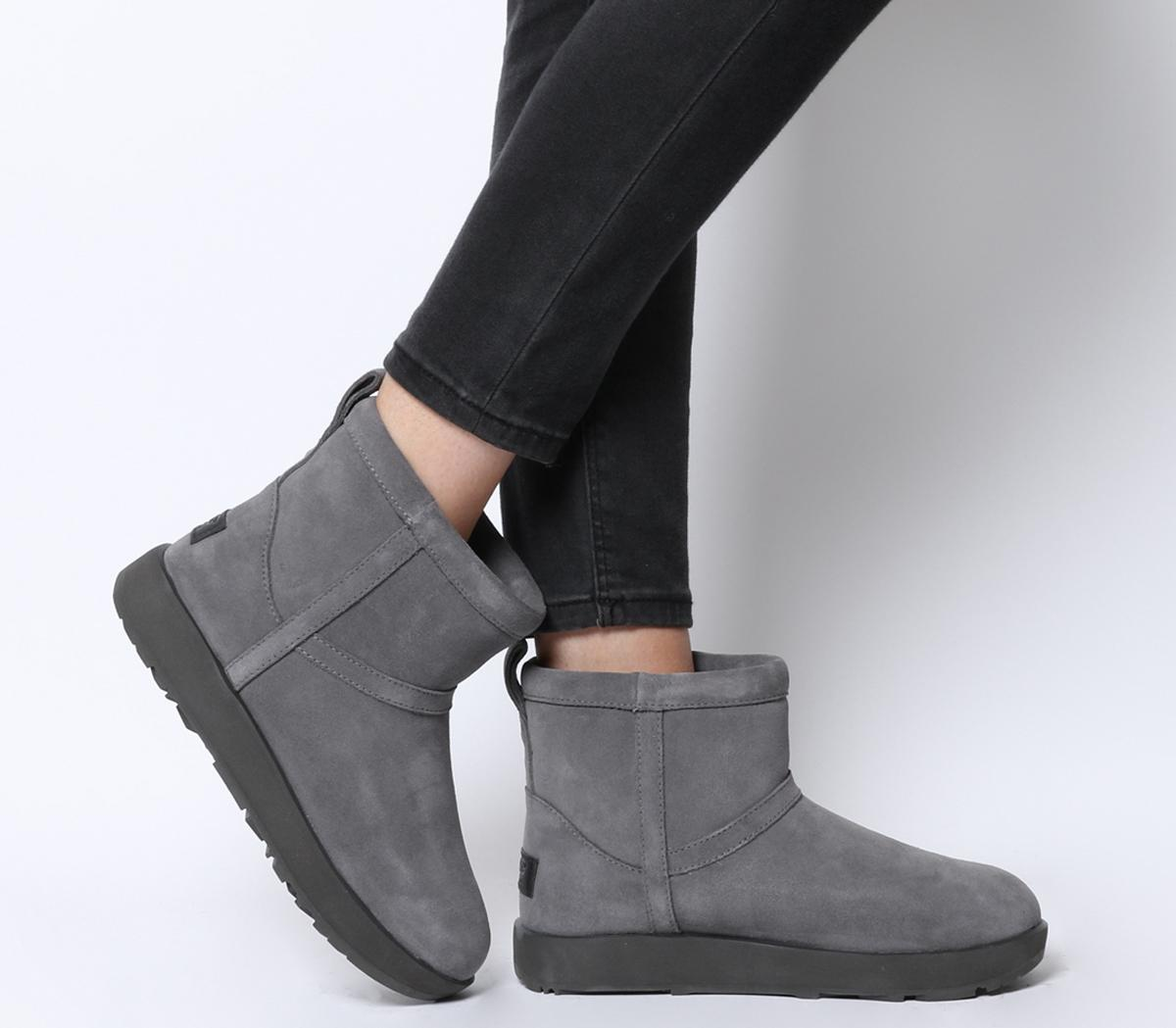 UGG Classic Mini Waterproof Boots Metal