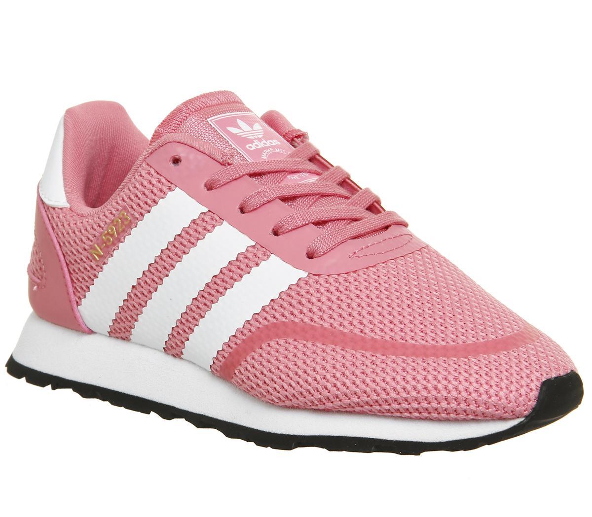 adidas N-5923 Kids Trainers Chalk Pink