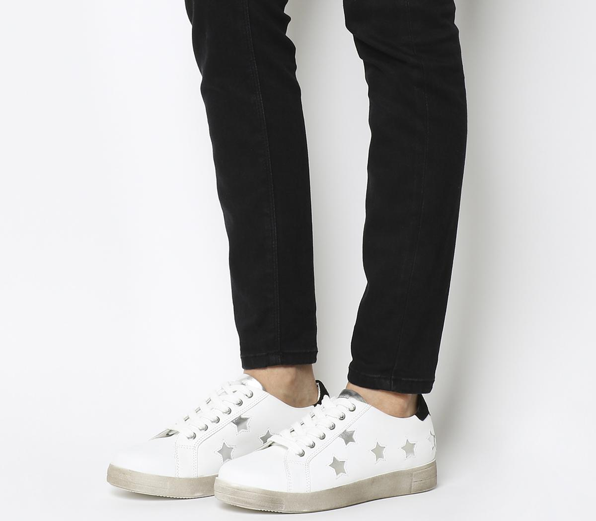 Famous Lace Up Trainers