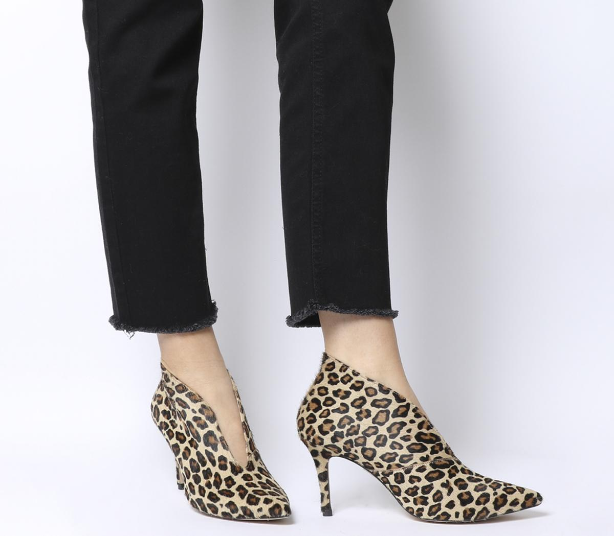 Office Mojo Shoe Boots Leopard Pony