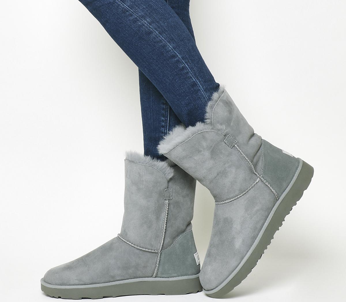 UGG Classic Cuff Short Boots Geyser