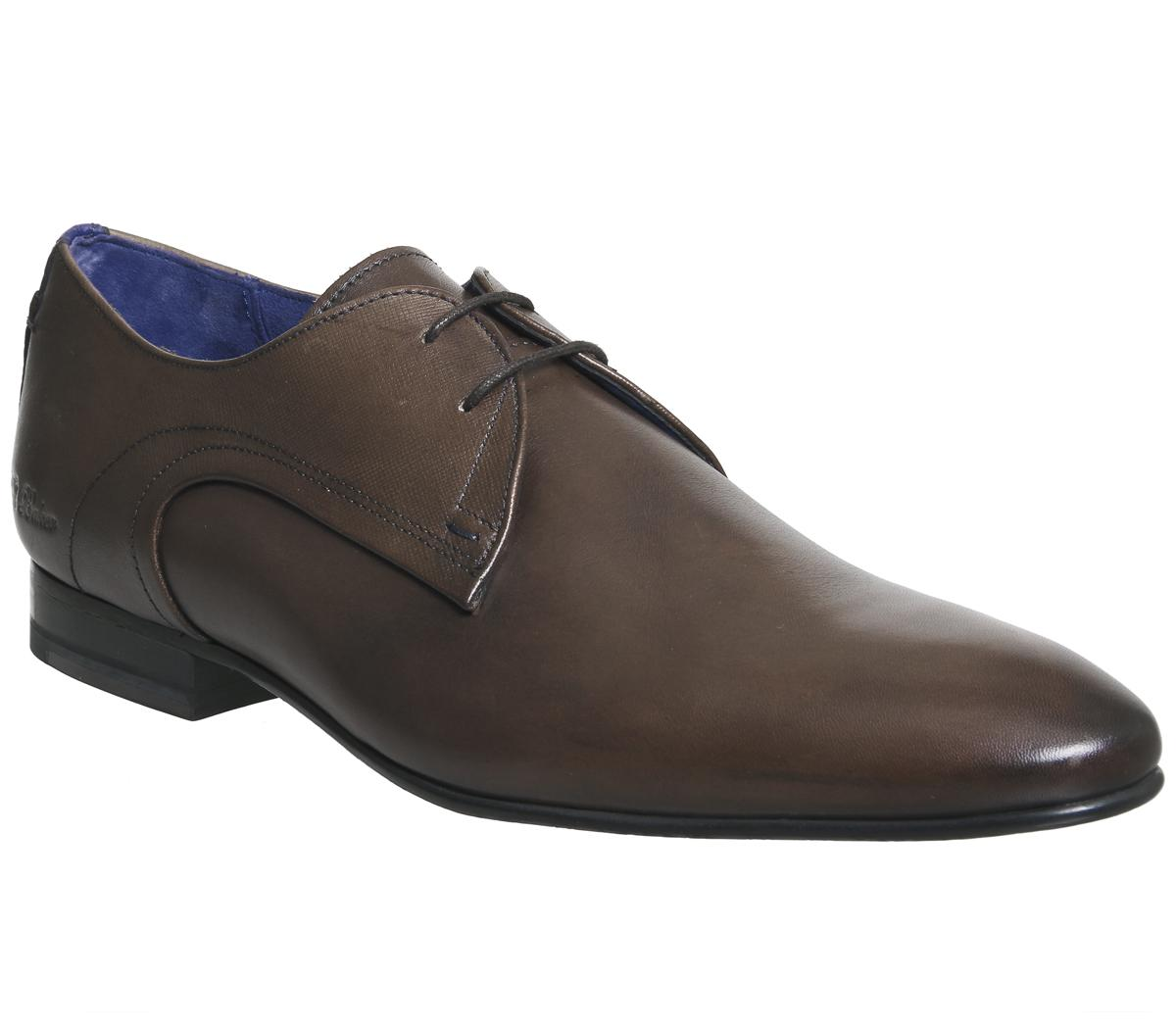 Ted Baker Peair Lace Up Shoes Brown