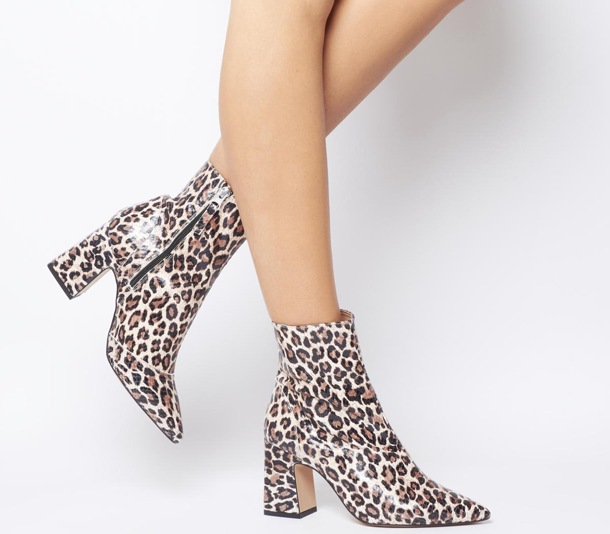 Alto Pointed Block Heel Boots