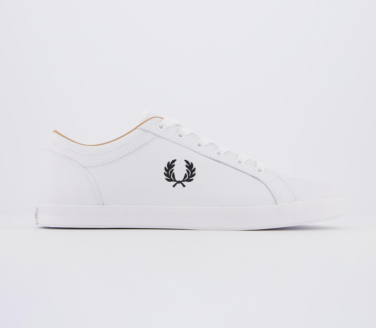 Fred Perry Baseline Trainers White