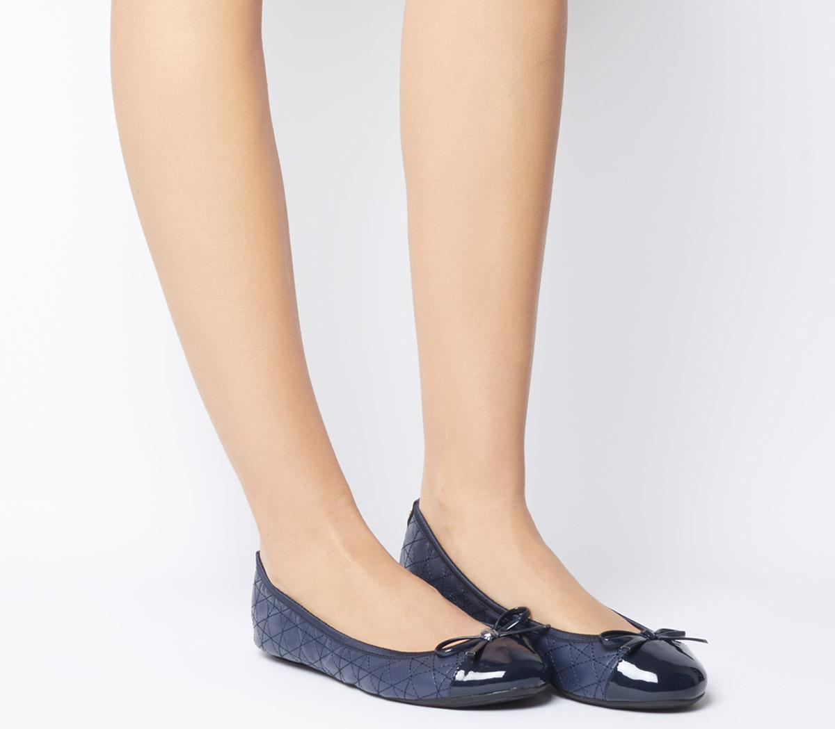 Quilted Olivia 2 Flats