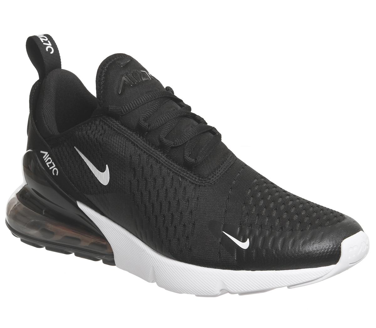 Black and white Nike sneakers I've