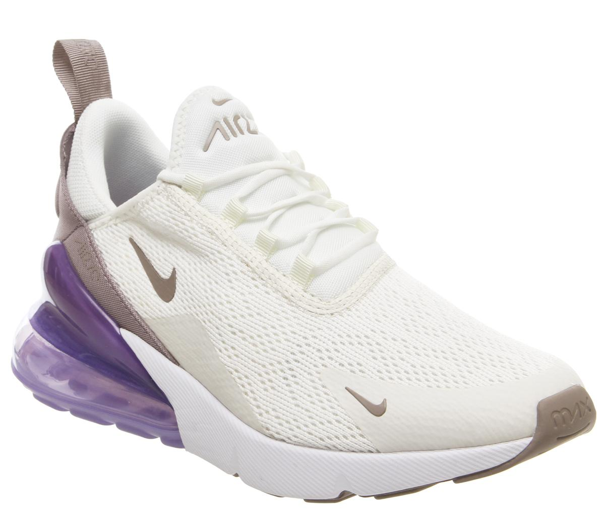 nike W AIR MAX 270 SAILPUMICE SPACE PURPLE WHITE bei