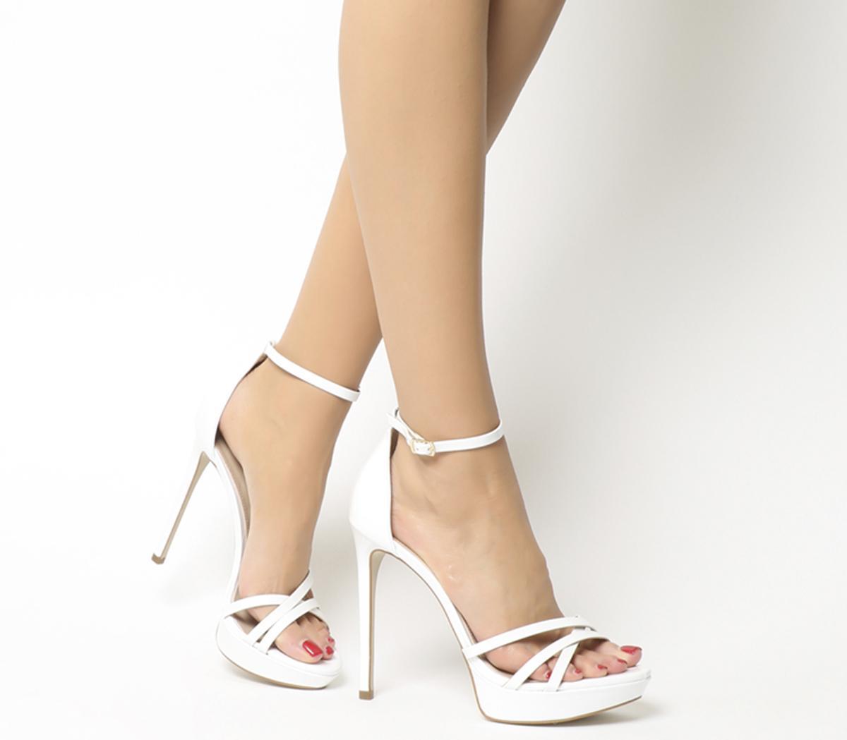 Office Hey Day Platform Heel Sandal