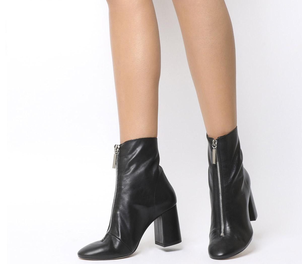 All Sorts Front Zip Boots
