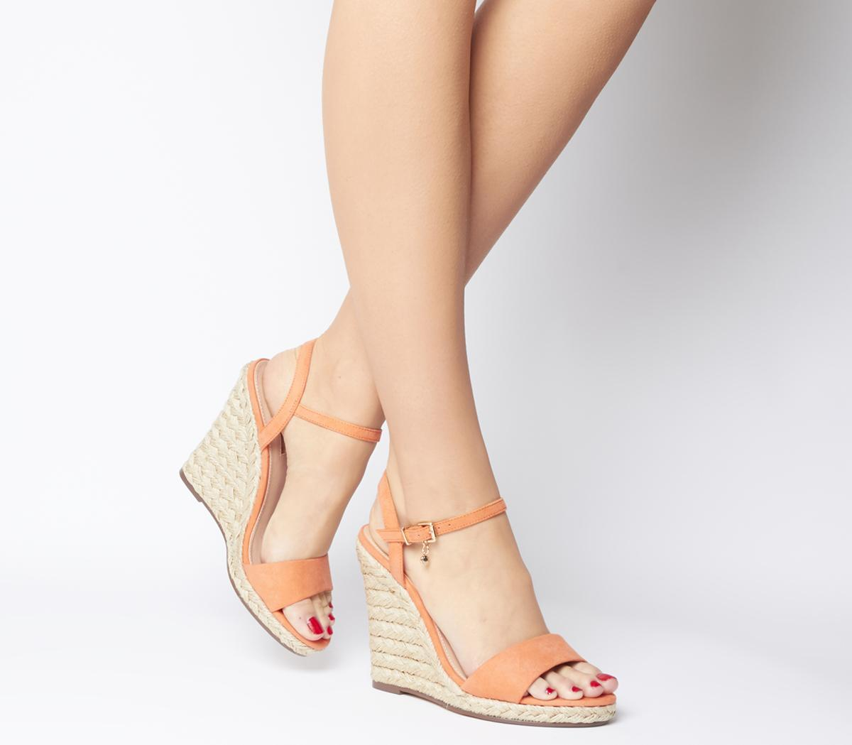 Honolulu Dressy Espadrille Wedges