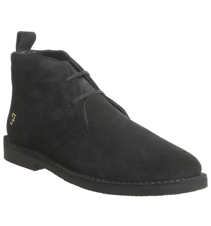 Farah Farah Lozza Desert Boot BLACK SUEDE
