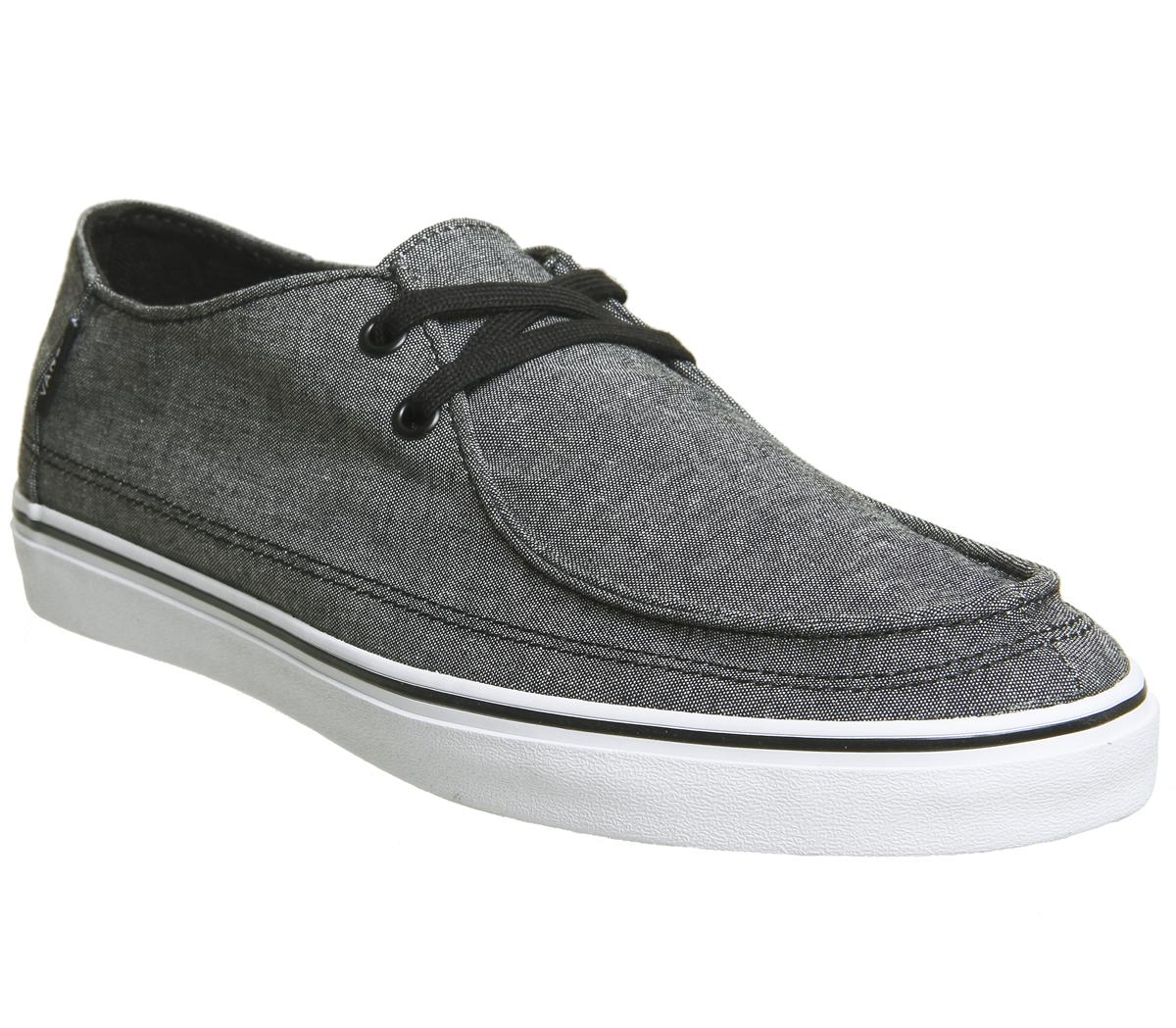 Vans Rata Vulc Shoes Black Chambray