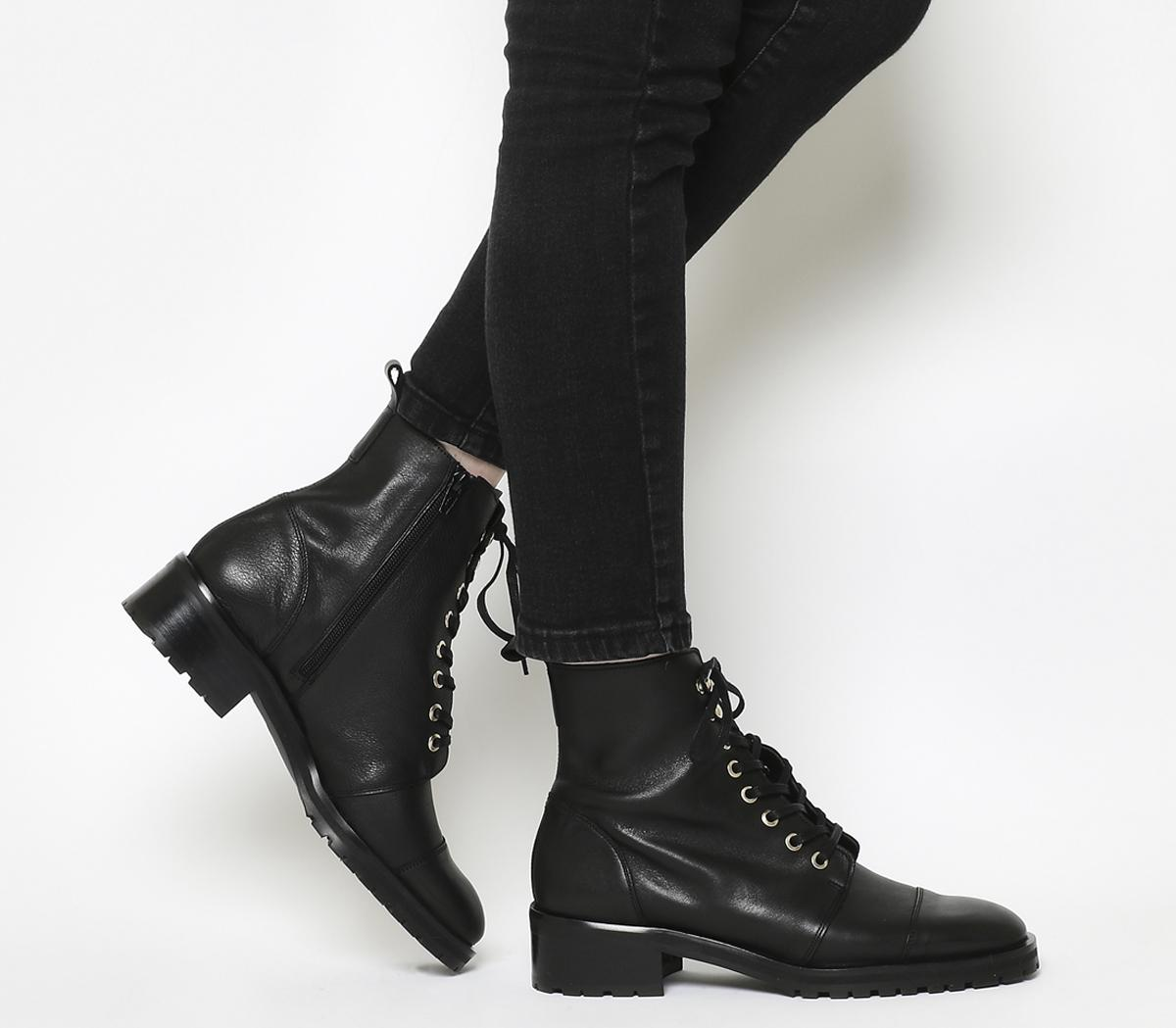 Office Amped Up Lace Up Ankle Boots