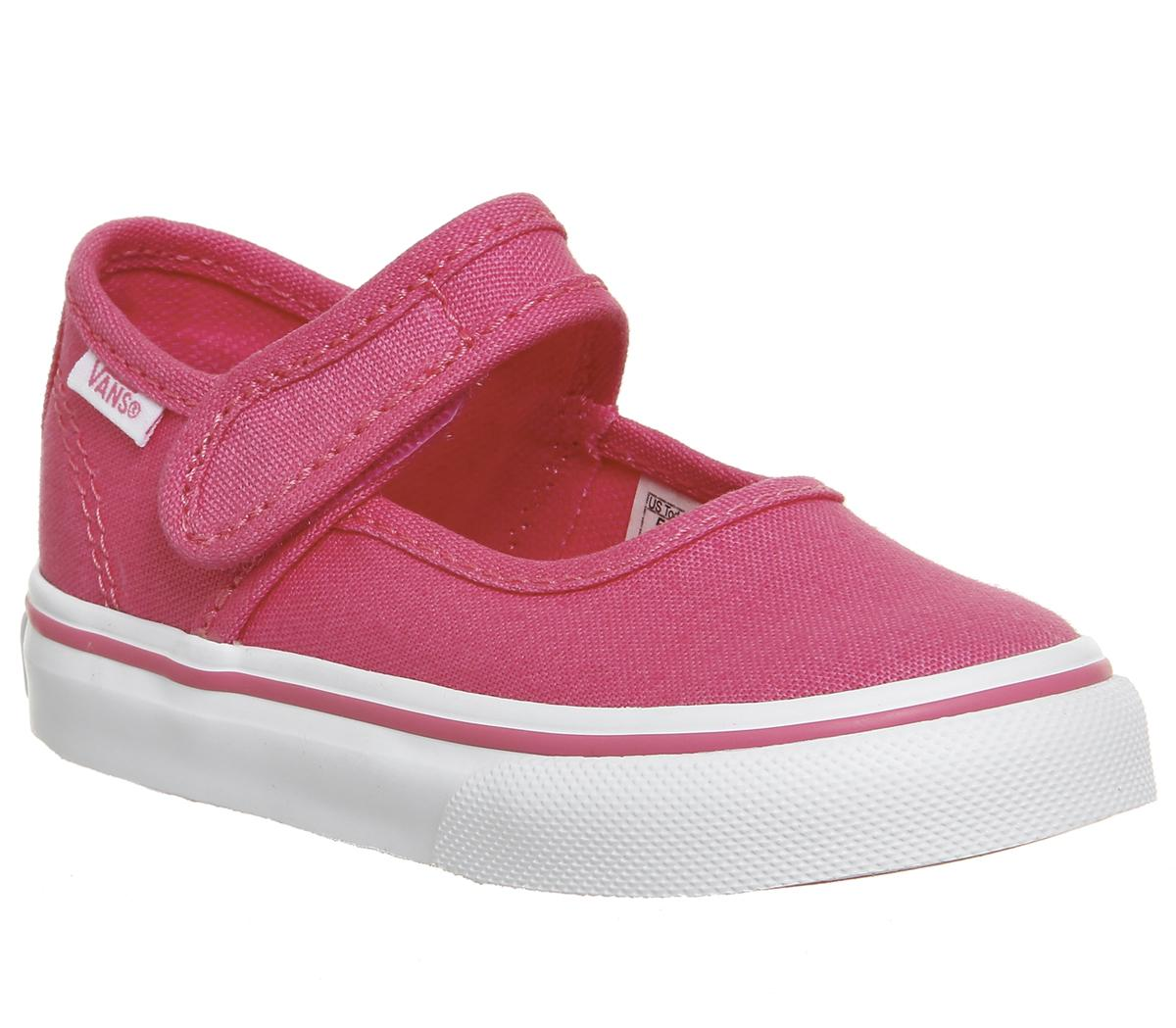 Vans Mary Jane Toddler Shoes Hot Pink