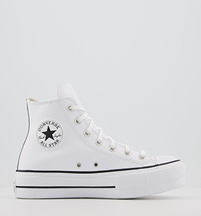 gusto vestirse autoridad  Converse | White & Black Converse Trainers | OFFICE