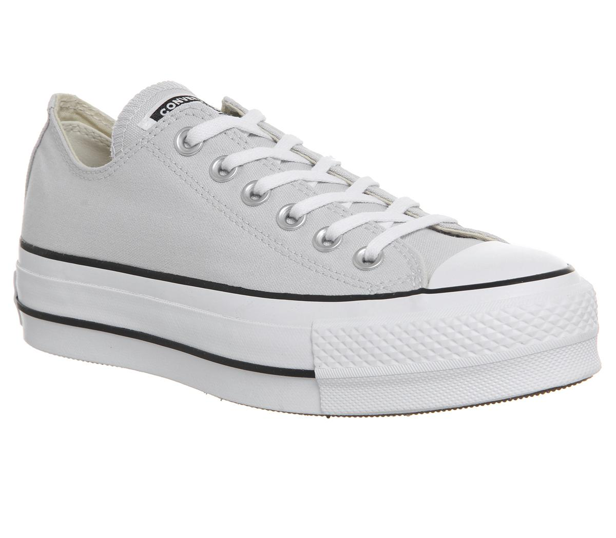 Pack para poner fumar campana  Converse All Star Lift Low Trainers Mouse White Black - Hers trainers