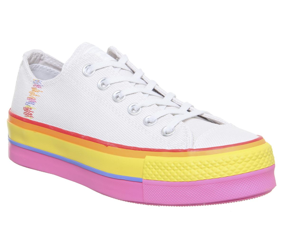 Converse Platform Low Trainers