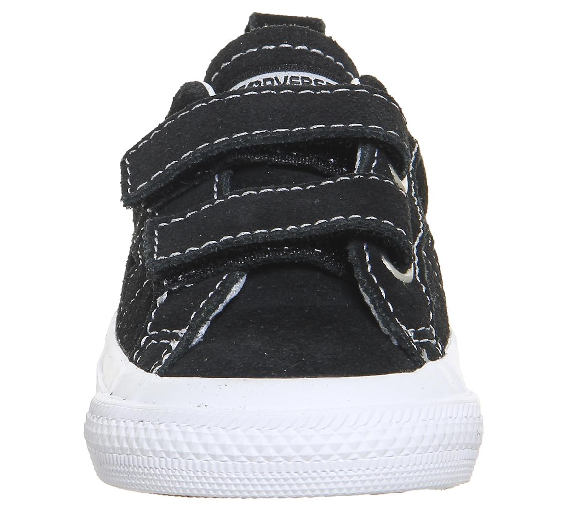 Converse One Star Infant Trainers Black