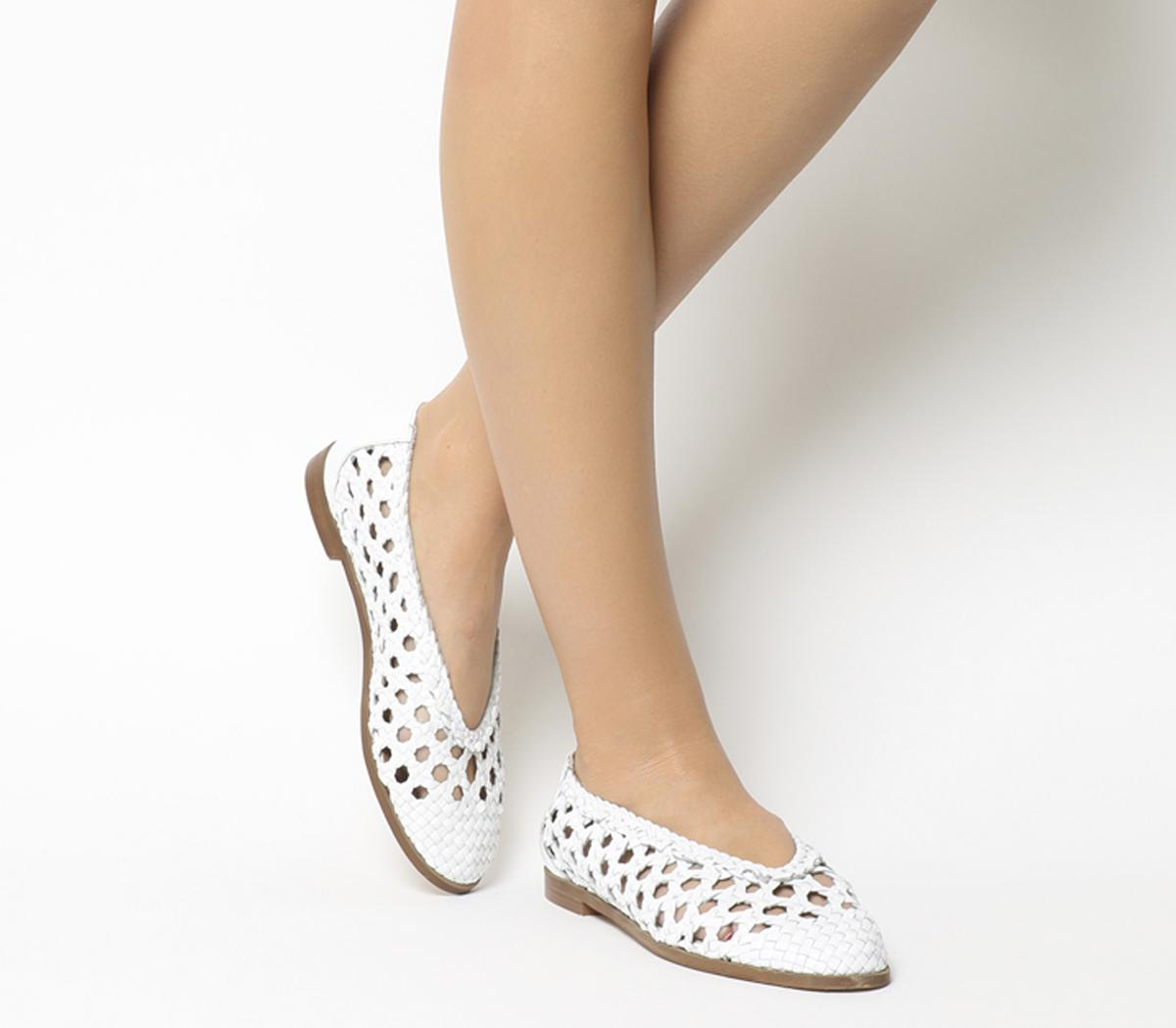 Fast Track Woven Ballerina Flats