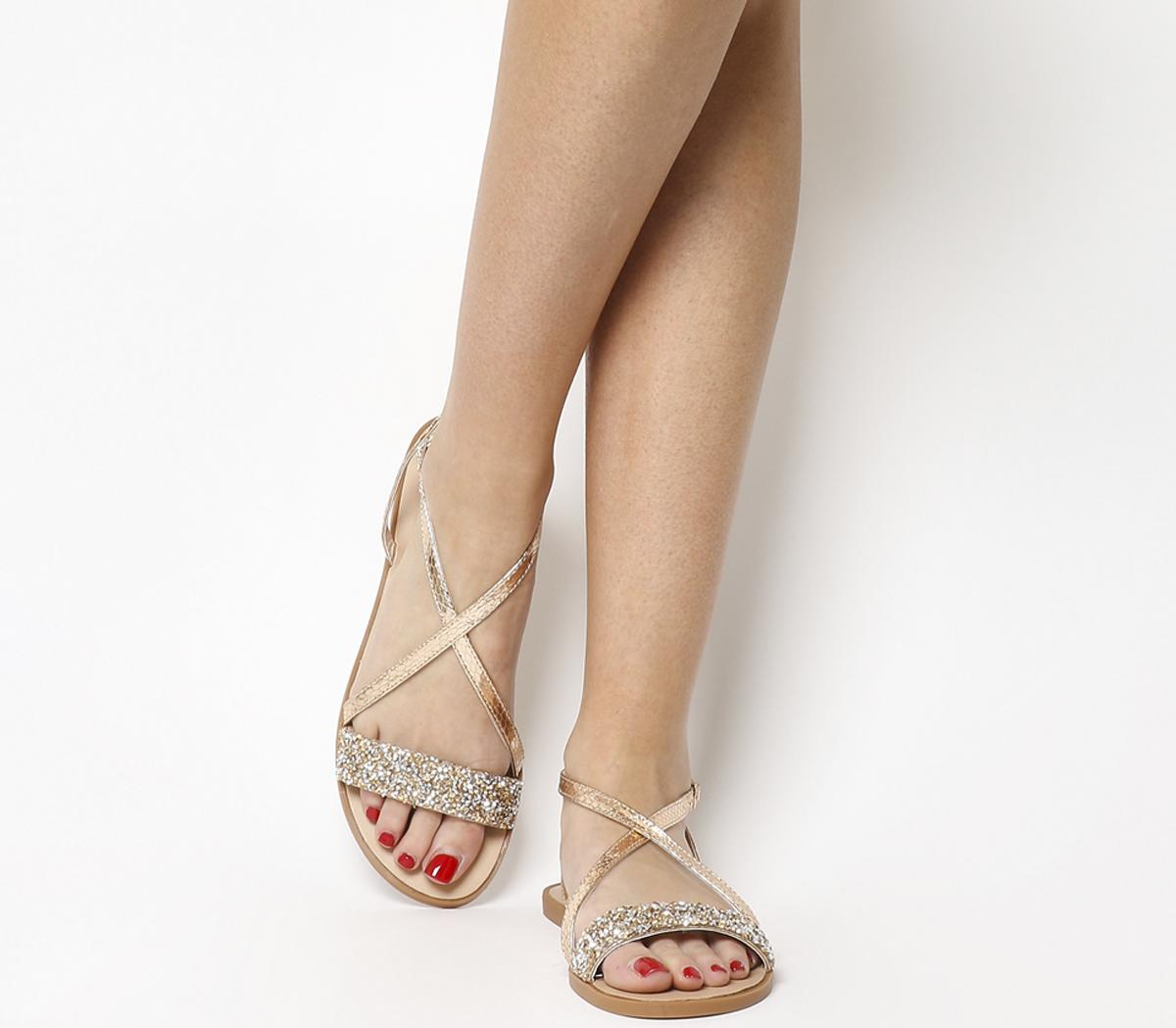 Starlight Embellished Strappy Sandals
