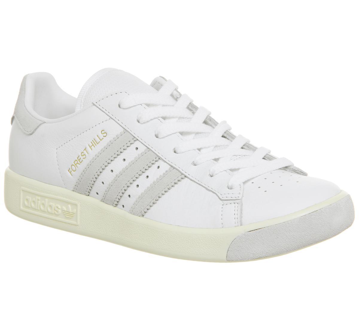 adidas Forest Hills White Cream White