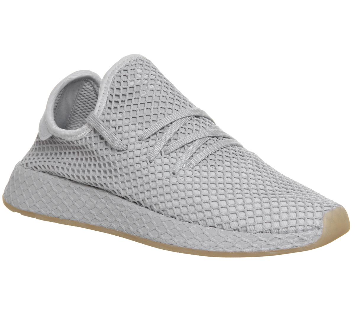 adidas Deerupt Trainers Grey Grey Gum