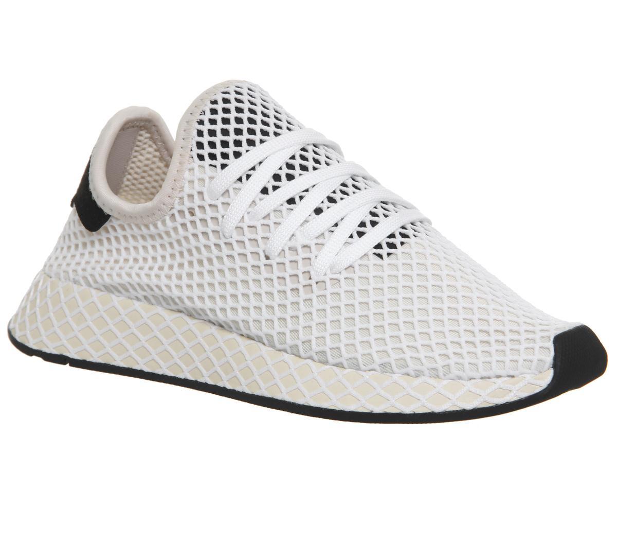 adidas Deerupt Trainers Linen Ecru Tint