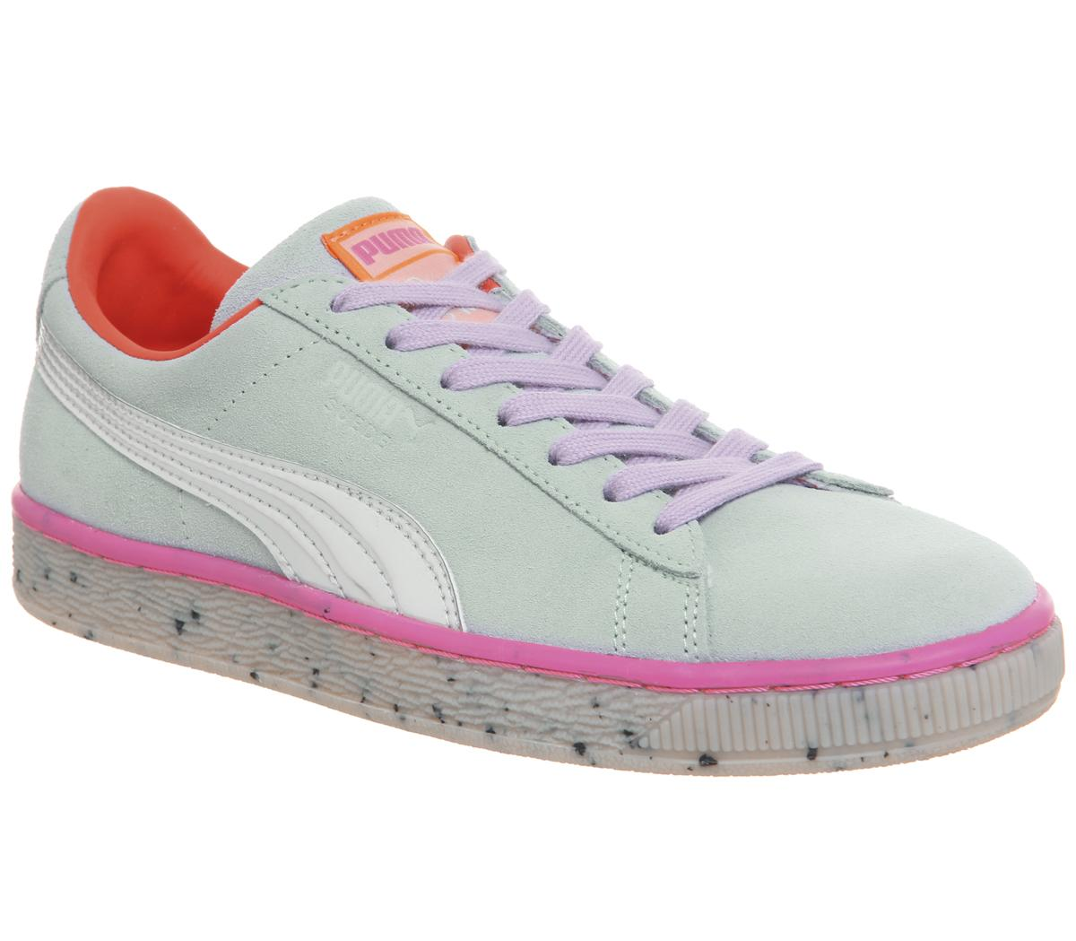 Suede Candy Princess Trainers