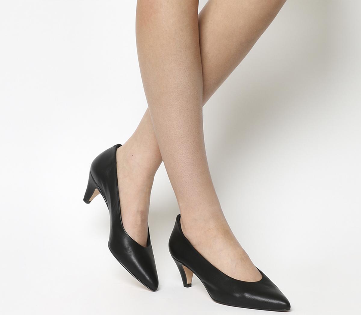 Office Macadamia Unlined Court Shoe