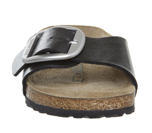 Birkenstock Madrid Big Buckle Sandals Graceful Licorice - Sandals ECcDnmO