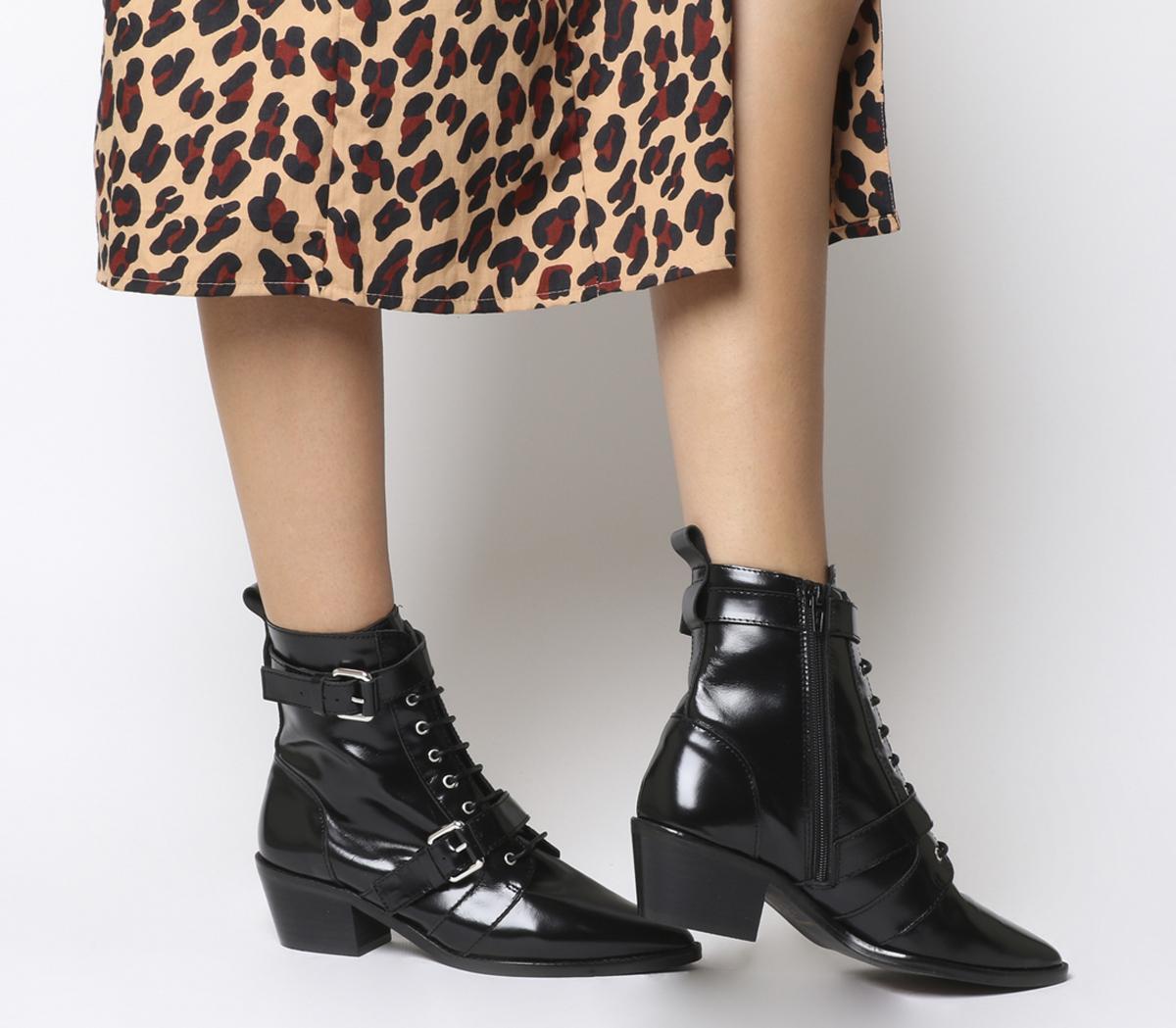 Ambassador Lace Up Boots