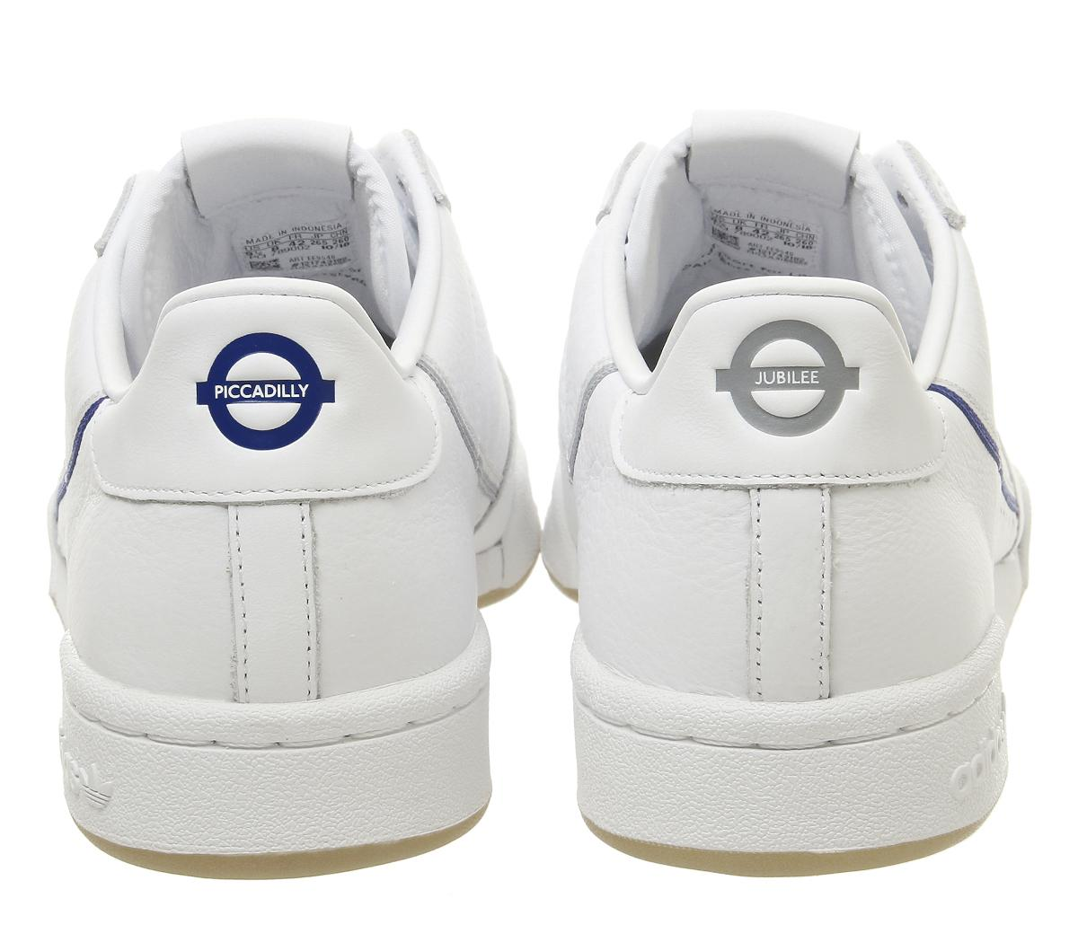 adidas Continental 80s Trainers White