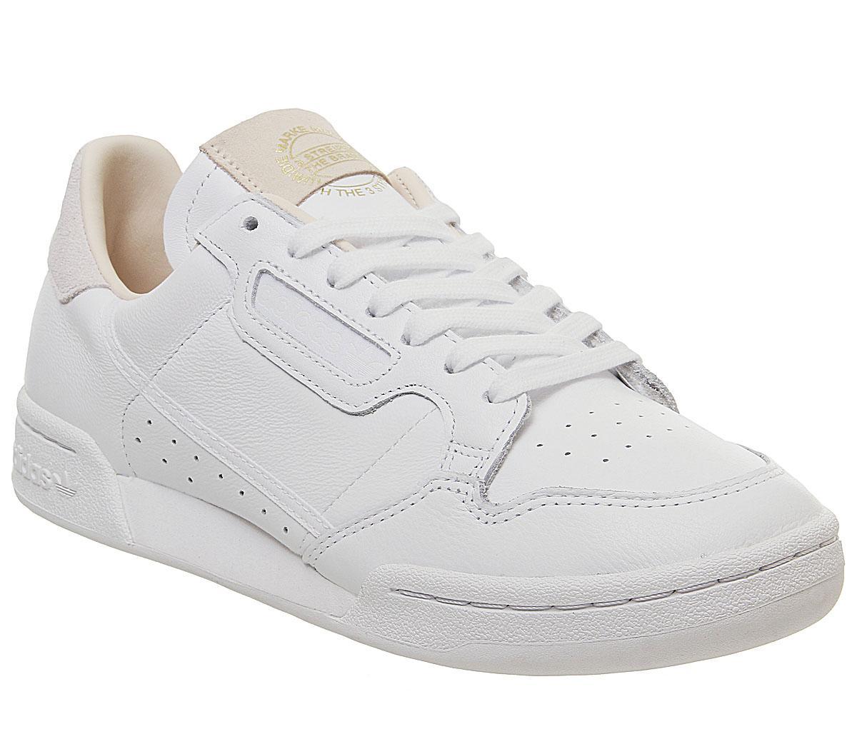 adidas Continental 80 S White White