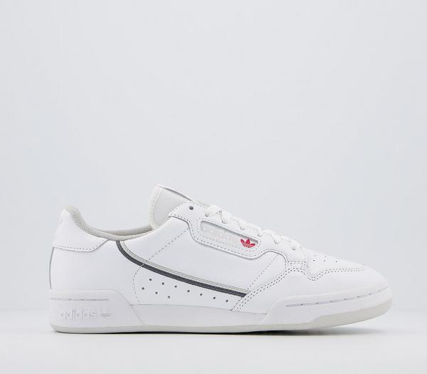 adidas Continental 80s Trainers White Grey Five Grey One - His trainers Fwh7Bsh