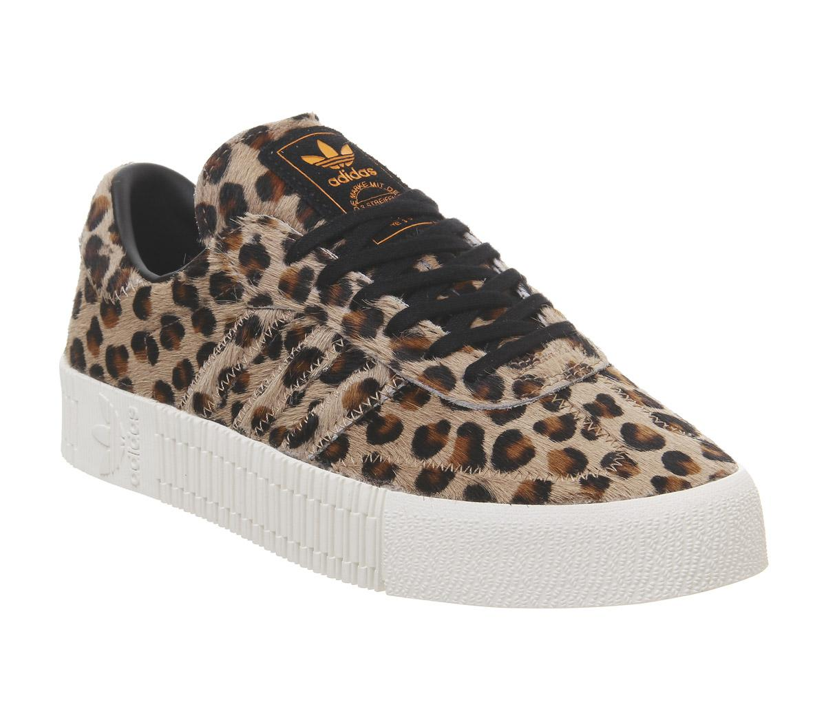 adidas Samba Rose Leopard Black Off