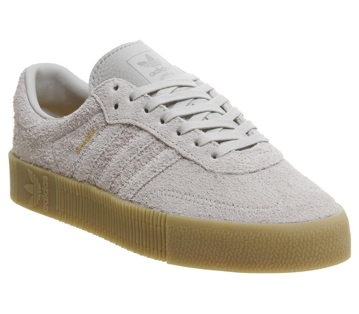 adidas Samba Rose Trainers Grey Two