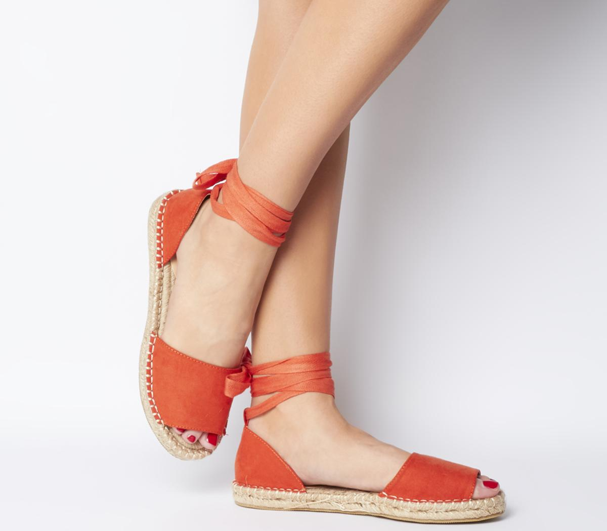 Summer Bay Espadrille With Ties