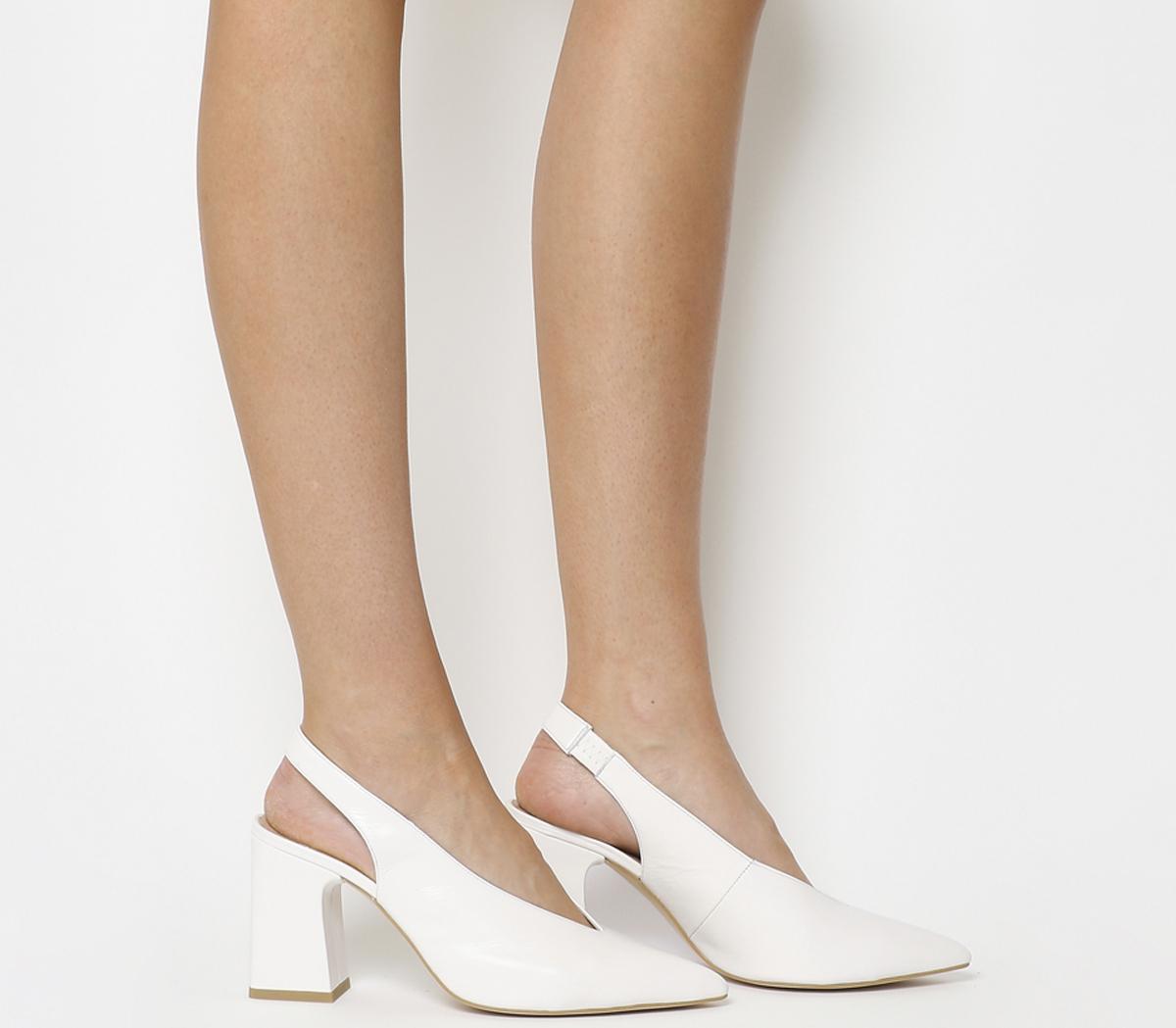 Mimi Chunky Slingback Heels