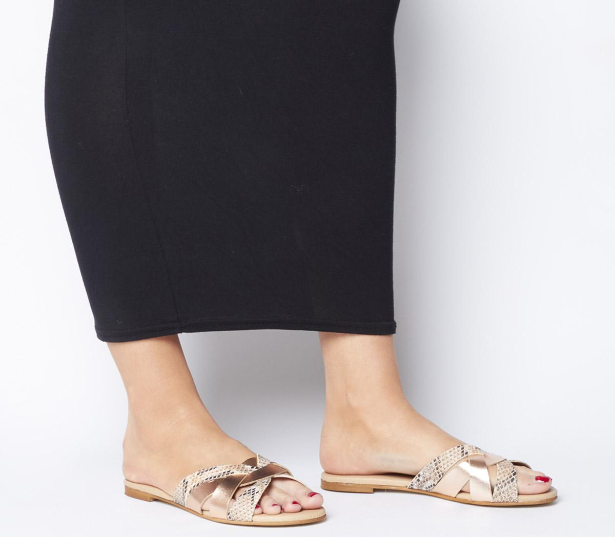 Saffron Mule Sandals
