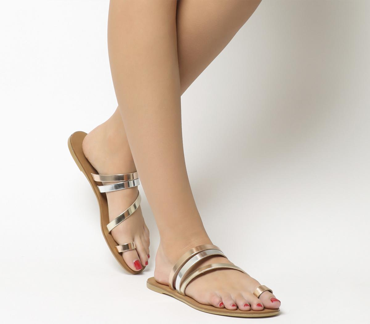 Seville Toe Loop Mule Sandals
