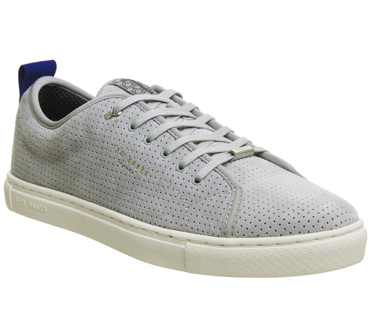 Ted Baker Kaliix Sneakers Grey Suede