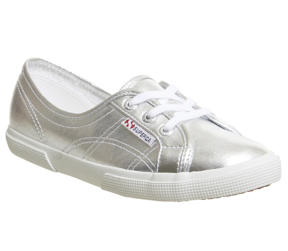 Superga 2211 Silver White - Hers trainers