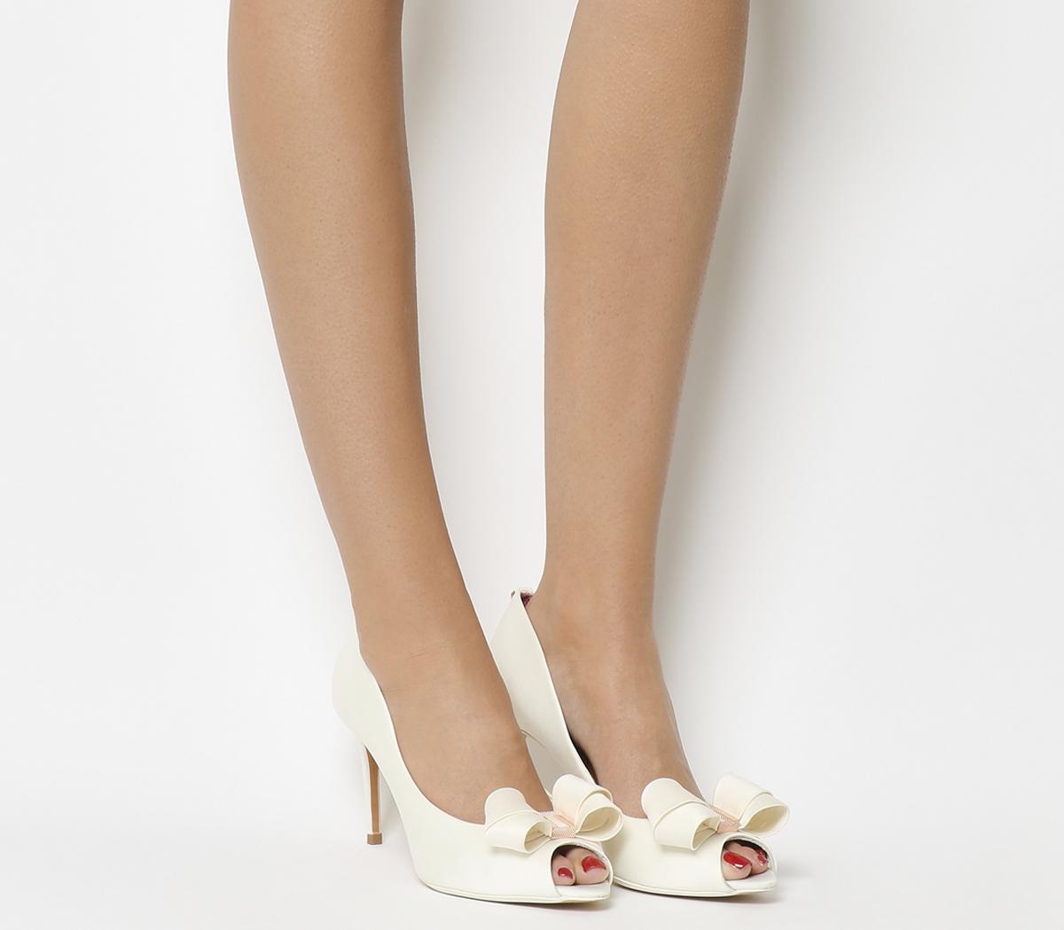 Vylett Peep Toe Heels